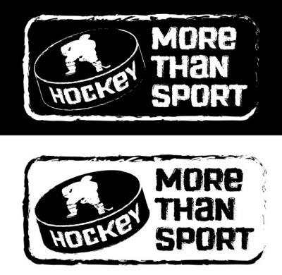 Wall mural Хоккейный принт на футболку