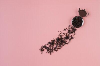 紅茶-tea-ピンク