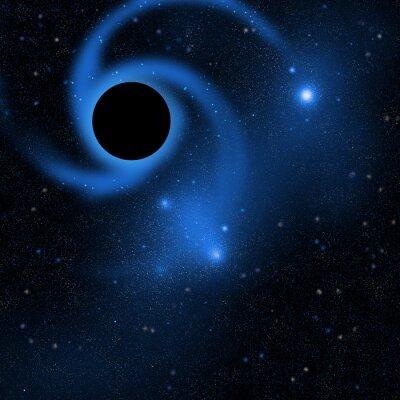 Wall mural ブラックホール