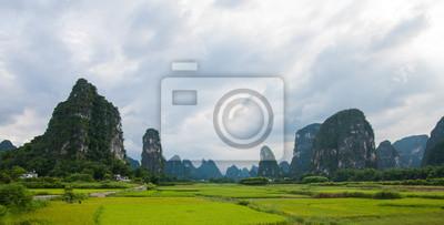 Yangshuo China landscape