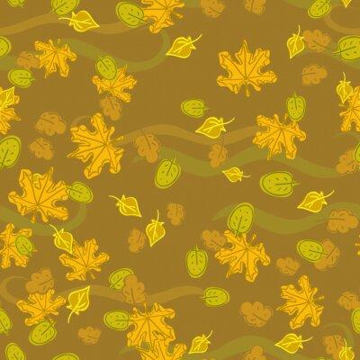 yellow autumn texture