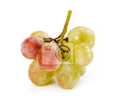 Yellow ripe grapes