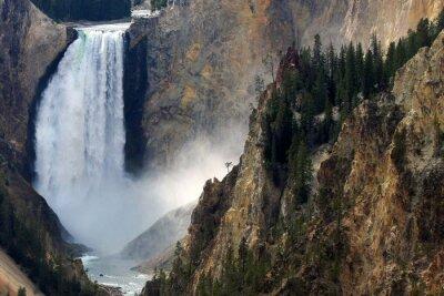 Wall mural Yellowstone Fall