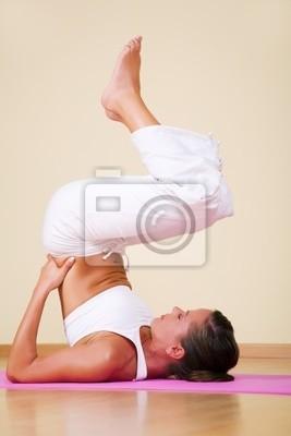Yoga - Ardha Sarvangasana