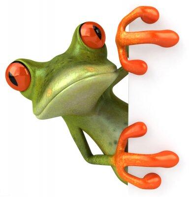 Żaba z pustym znakiem