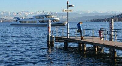 zurich et son lac