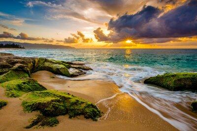 Poster A beautiful Hawaiian Sunset