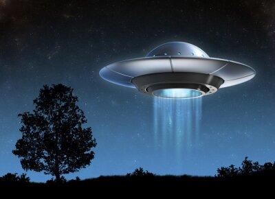 Poster Alien spaceship