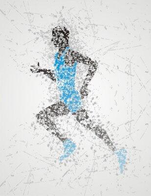 Poster athlete design