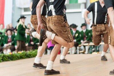 Poster Austria folk dance