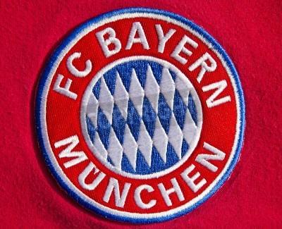 Poster Badge of German soccer club FC Bayern Munich