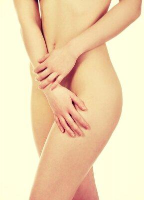 Poster Beautiful woman's body.