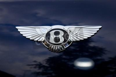Poster Bentley emblem - outside shoting