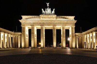 Poster Berlin - Brandenburg Tor