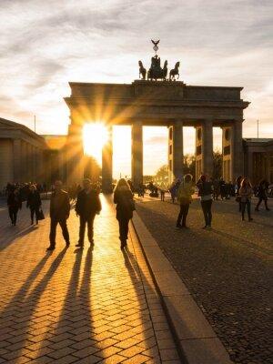 Poster Berlin, Brandenburger Tor