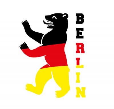 Poster Berliner Bär