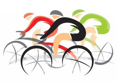 Poster Bicycle Race