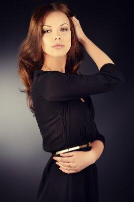 Poster black dress