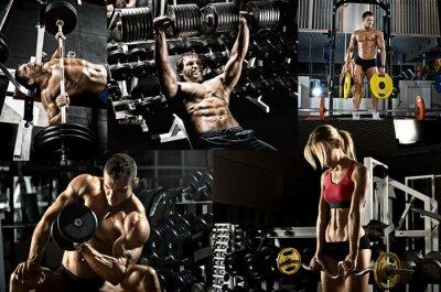 Poster bodybuilding