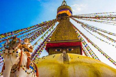 Poster Bouddhanath Stupa,Kathmandu,Nepal