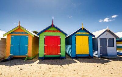 Poster Brighton Bay Beachhouses
