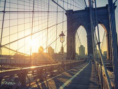 Poster Brooklyn Bridge New York