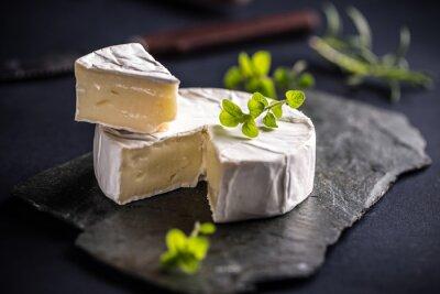 Poster Camembert cheese
