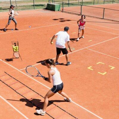 Poster Cardio tennis training