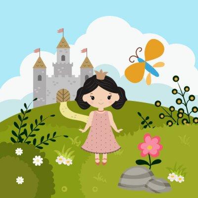 Poster Cartoon fairy tale