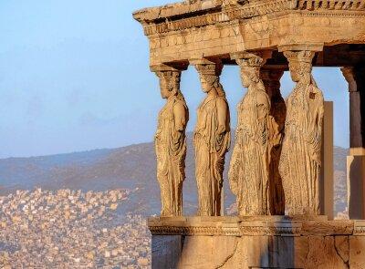 Poster Caryatides, Acropolis of Athens
