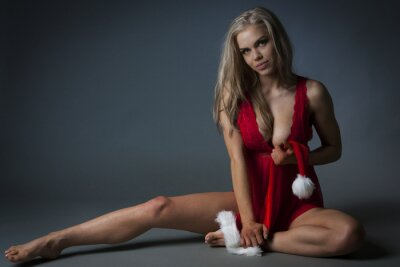 Poster Christmas Girl