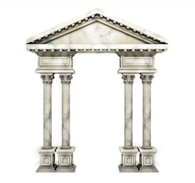 Poster Classic Corinthian Column Arch.