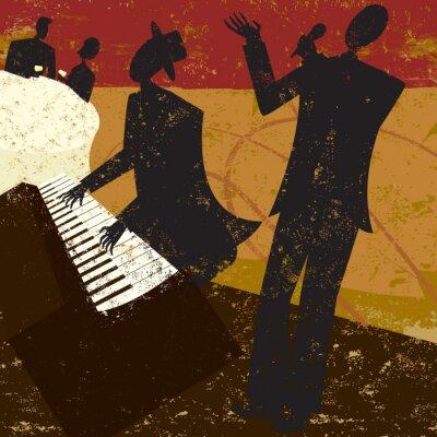 Poster Club Singer