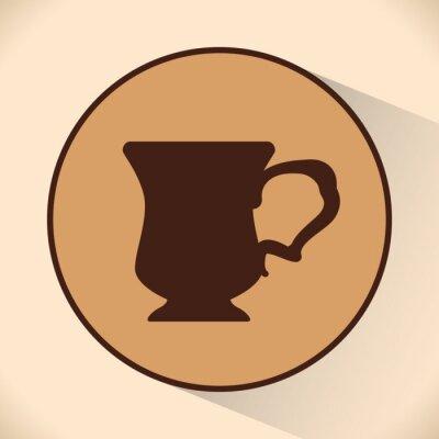 Poster Coffe icon design