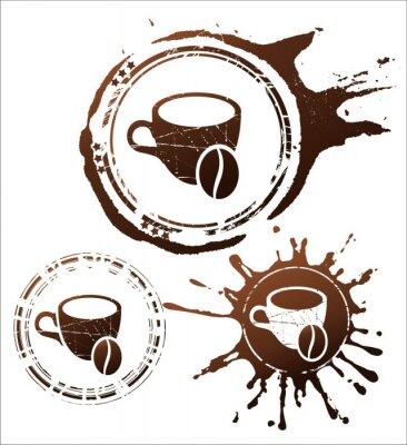 Poster coffee design elements. vector illustration