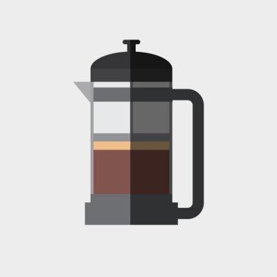 Poster Coffee icon design