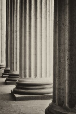 Poster Colonnade of the Kazan Cathedral in Saint-Petersburg, Russia