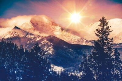 Poster Colorado Mountains Vista