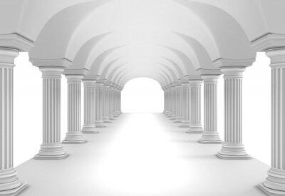 Poster Column Tunnel