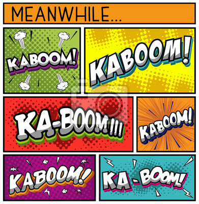 Poster Comic Book Collection-KABOOM