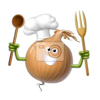 cook onion