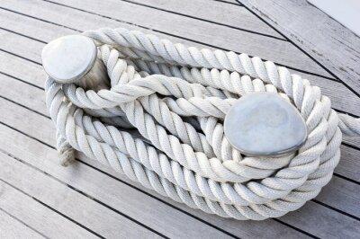 Poster Corda legata ad una barca