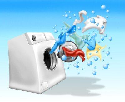crazy washing machine