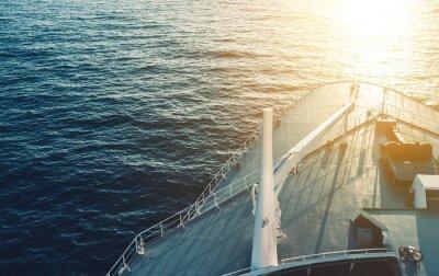 Poster Cruise Ship Bow