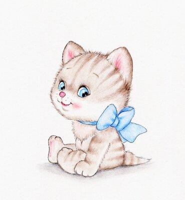 Poster Cute kitten