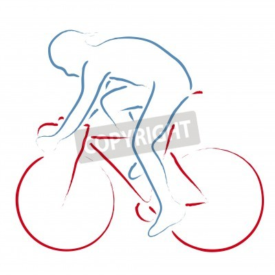 Poster cyclist