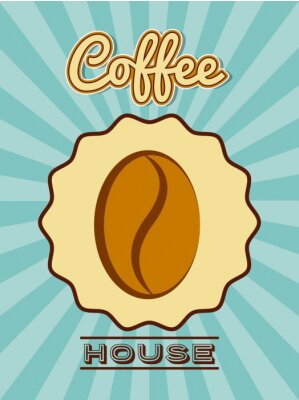 Poster delicious coffee design