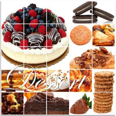 Poster Dessert Collage