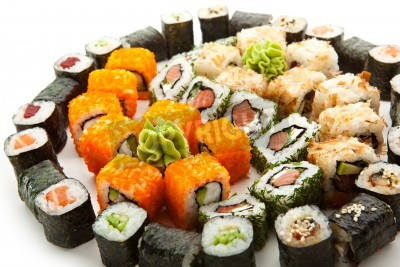 Poster Different Types of Maki Sushi