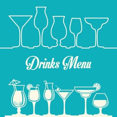 Poster Drink design